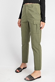 Gilli High-Waisted Cargo Pants - Side cropped