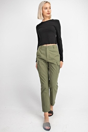 Gilli High-Waisted Cargo Pants - Front full body