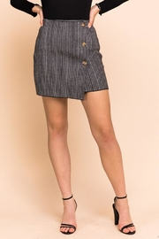 Gilli Houndstooth Mini Skirt - Product Mini Image