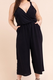 Gilli Jet Black Jumpsuit - Product Mini Image