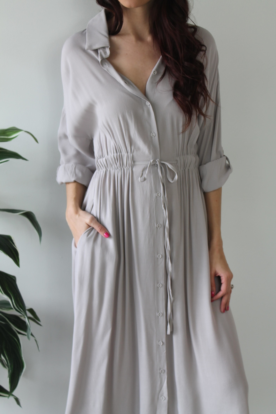 Gilli Kinley Maxi Dress - Back Cropped Image