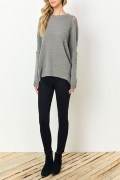 Gilli Kinsley Distressed Sweater - Product List Image