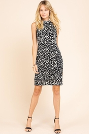 Gilli Leopard Bodycon Sweater Dress - Product Mini Image