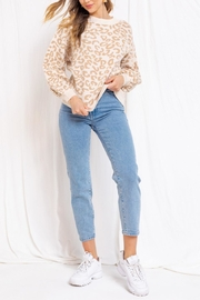 Gilli Leopard Sweater - Product Mini Image