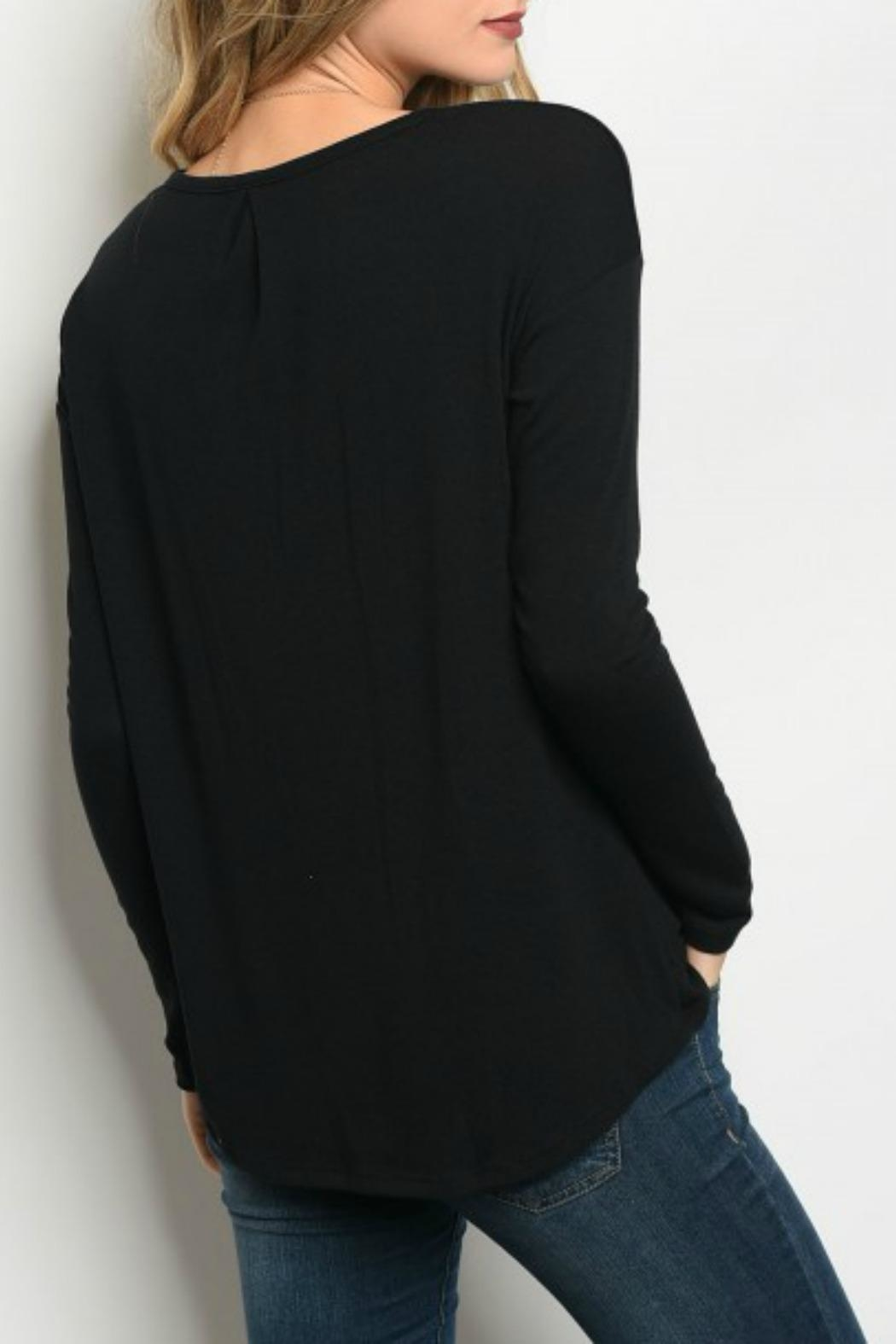 Gilli Long Sleeve Top - Front Full Image