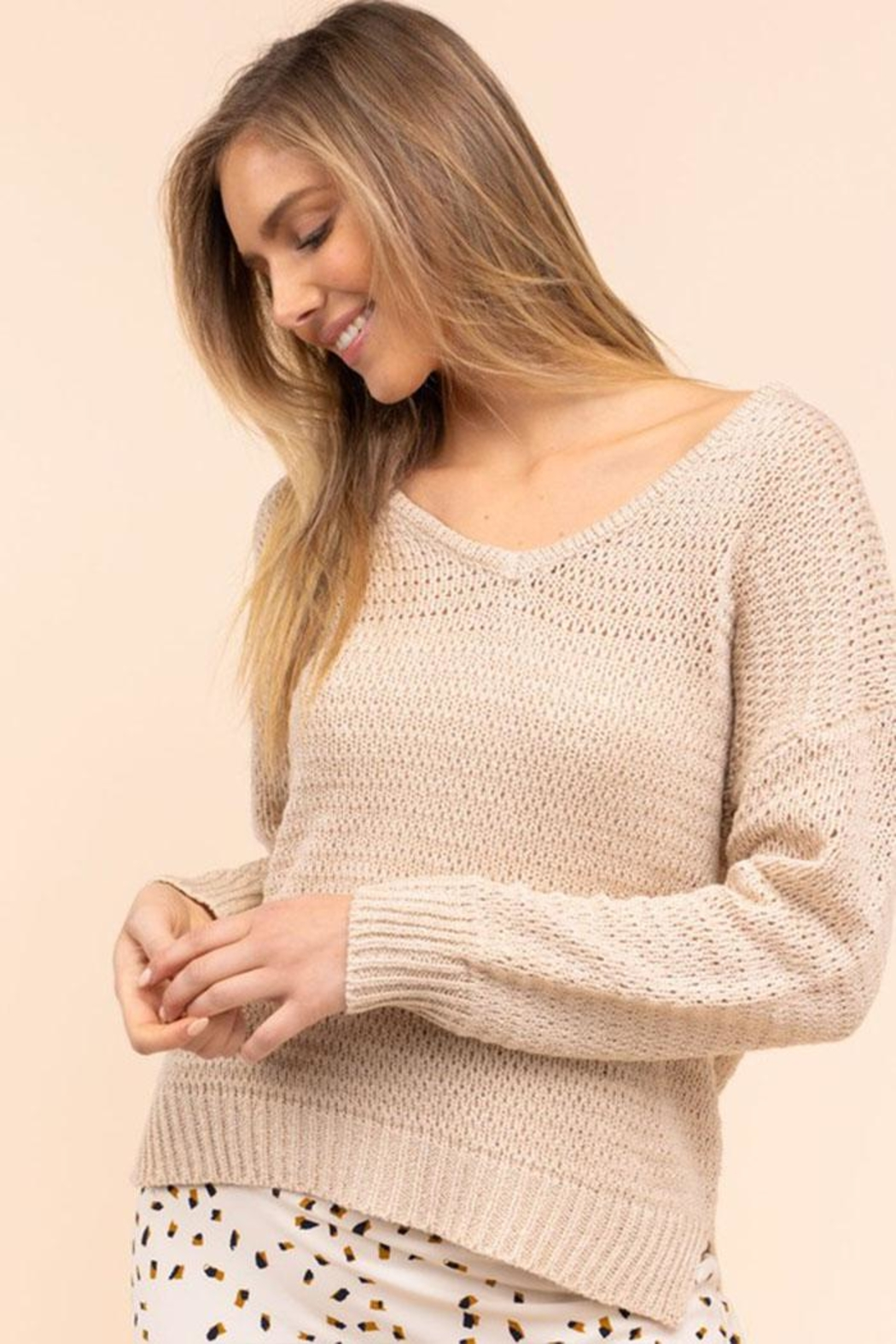 Gilli Loose Knit Sweater - Main Image