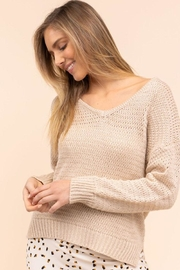 Gilli Loose Knit Sweater - Front cropped