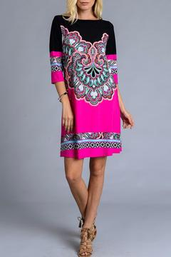 Gilli Magenta Flourish Dress - Product List Image