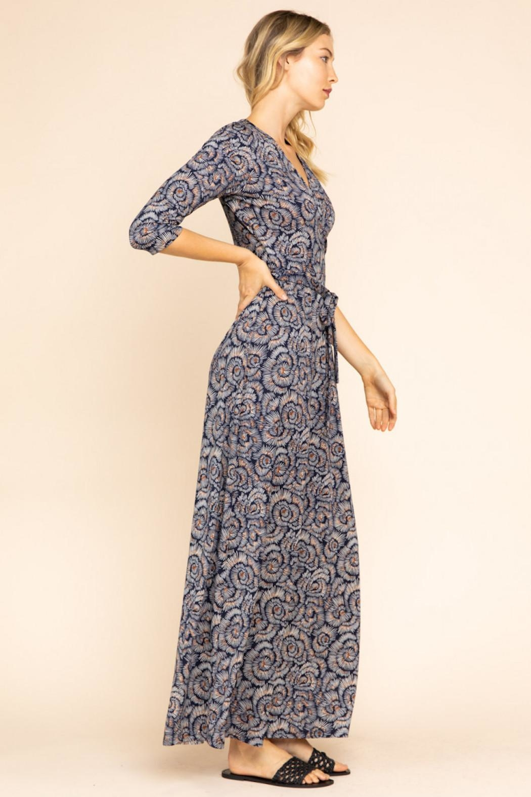 Gilli Maxi Wrap Dress - Front Full Image