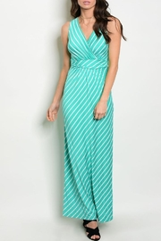 Gilli Mint Maxi Dress - Product Mini Image
