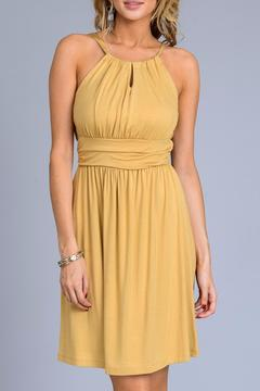 Gilli Mustard Sun Dress - Product List Image