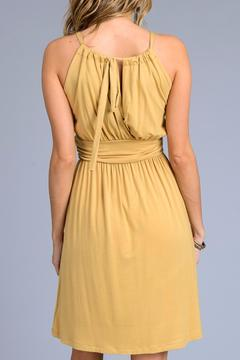 Gilli Mustard Sun Dress - Alternate List Image