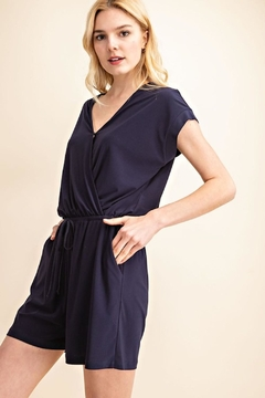 Gilli Navy Must-Have Romper - Product List Image