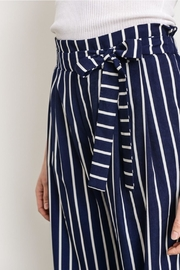 Gilli Navy Striped Pants - Other