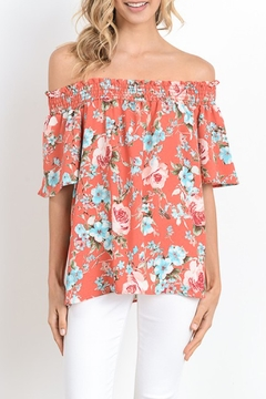 Gilli Of Shoulder Floral Top - Product List Image