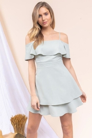 Gilli Off-The-Shoulder Ruffle Dress - Product Mini Image