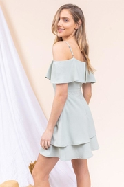 Gilli Off-The-Shoulder Ruffle Dress - Side cropped