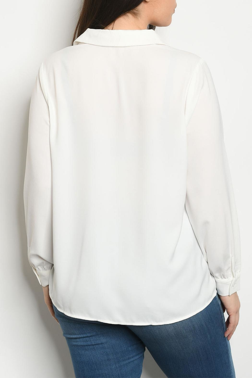 Gilli Off White Top - Front Full Image