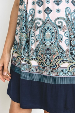 Gilli Paisley Sleeveless Dress - Alternate List Image