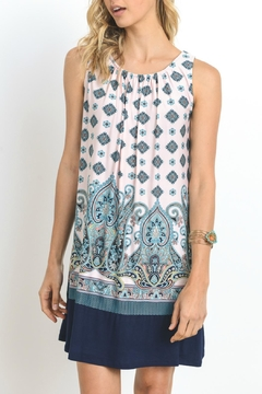 Shoptiques Product: Paisley Sleeveless Dress