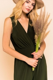 Gilli Perfect Black Jumpsuit - Front cropped