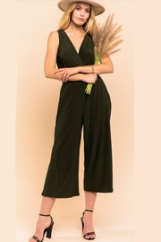 Gilli Perfect Black Jumpsuit - Front full body