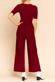 Gilli Perfect Burgundy Jumpsuit - Other