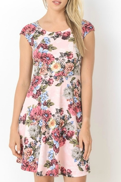 Gilli Pink Floral Dress - Alternate List Image