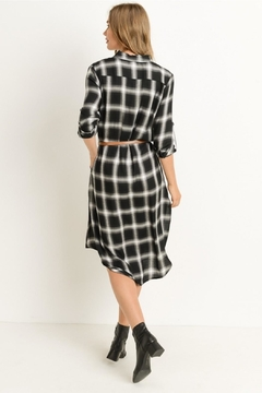 Gilli Plaid Shirt Dress - Alternate List Image