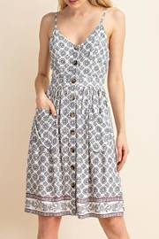 Gilli Pocket Button-Up Dress - Product Mini Image