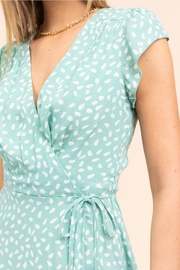 Gilli Printed Wrap Dress - Side cropped