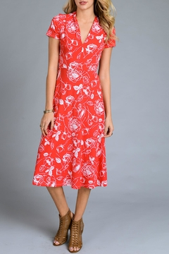 Gilli Red Floral Sundress - Product List Image