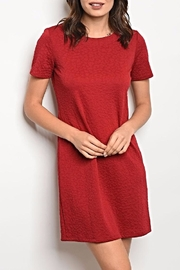Gilli Red Short Dress - Front cropped