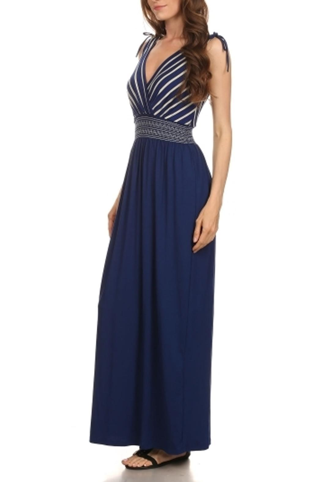Gilli Royal Blue Maxi - Front Full Image