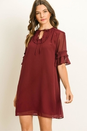 Gilli Ruffle Tunic Dress - Product Mini Image