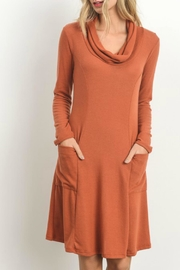 Gilli Soft-Knit Sweater Dress - Front cropped
