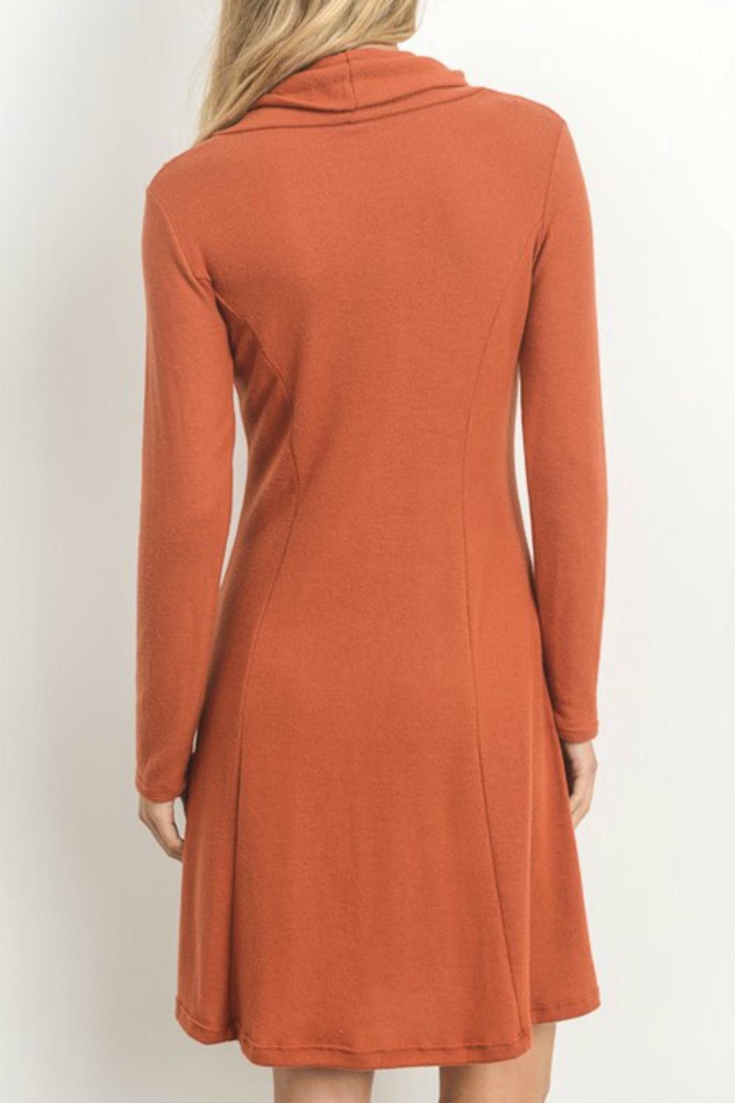 Gilli Soft-Knit Sweater Dress - Front Full Image