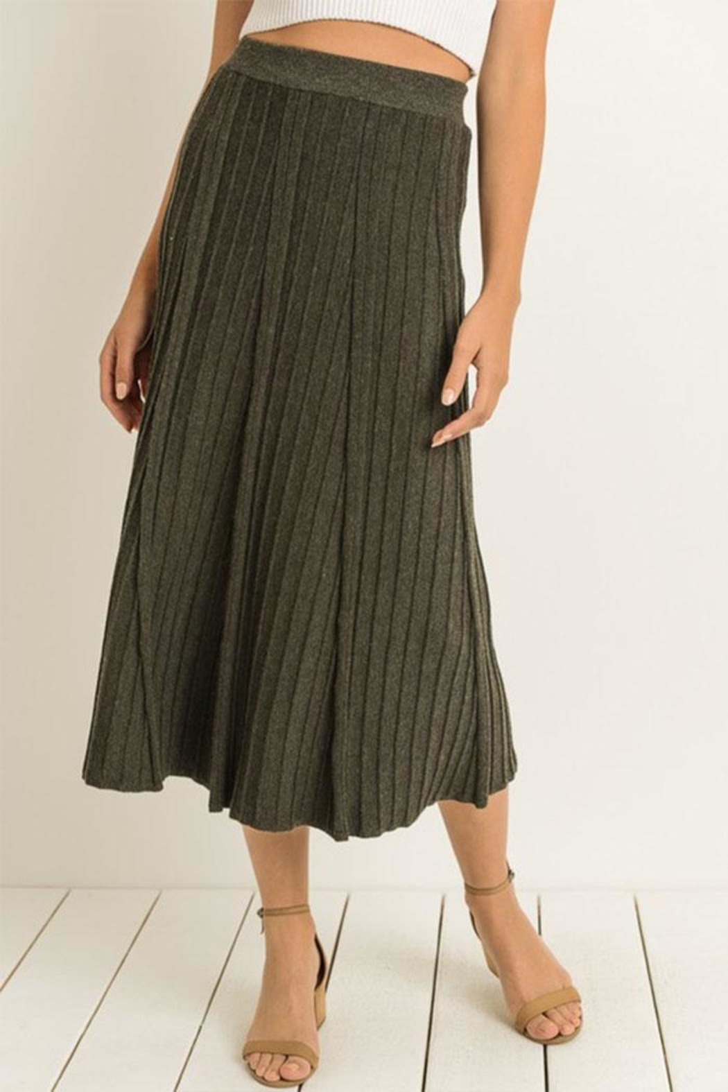 Gilli Soft Knitted Skirt - Main Image