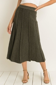 Gilli Soft Knitted Skirt - Front full body