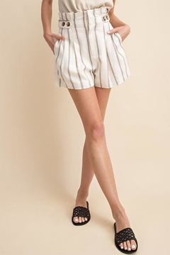 dfaf4ffdaa ... Gilli Stripe Button Shorts - Product List Image