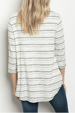 Gilli Stripe Top - Alternate List Image