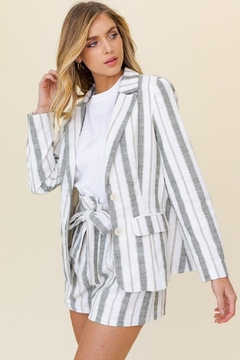 Gilli Stripes Are Forever Blazer - Product List Image