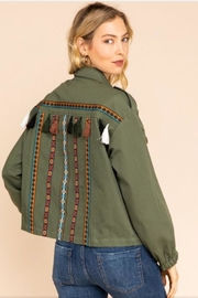 Gilli Tassel Utility Jacket - Product Mini Image
