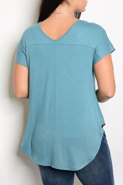 Gilli Teal Tee - Alternate List Image