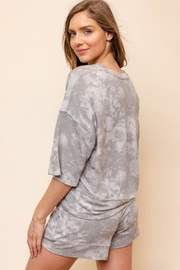 Gilli Tie-Dye Loose T-Shirt - Front full body
