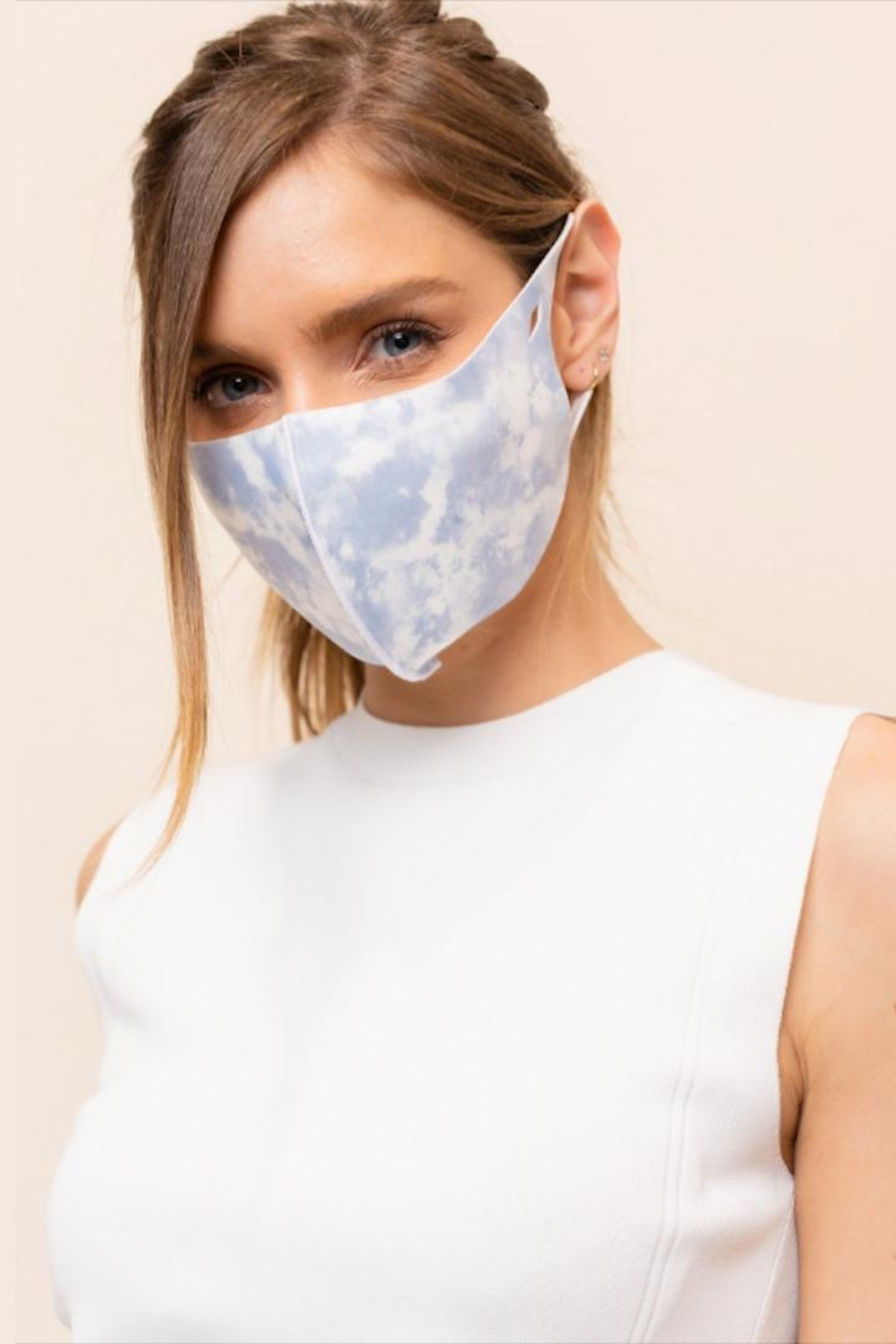 Gilli Tie-Dye Protective Face-Mask - Main Image