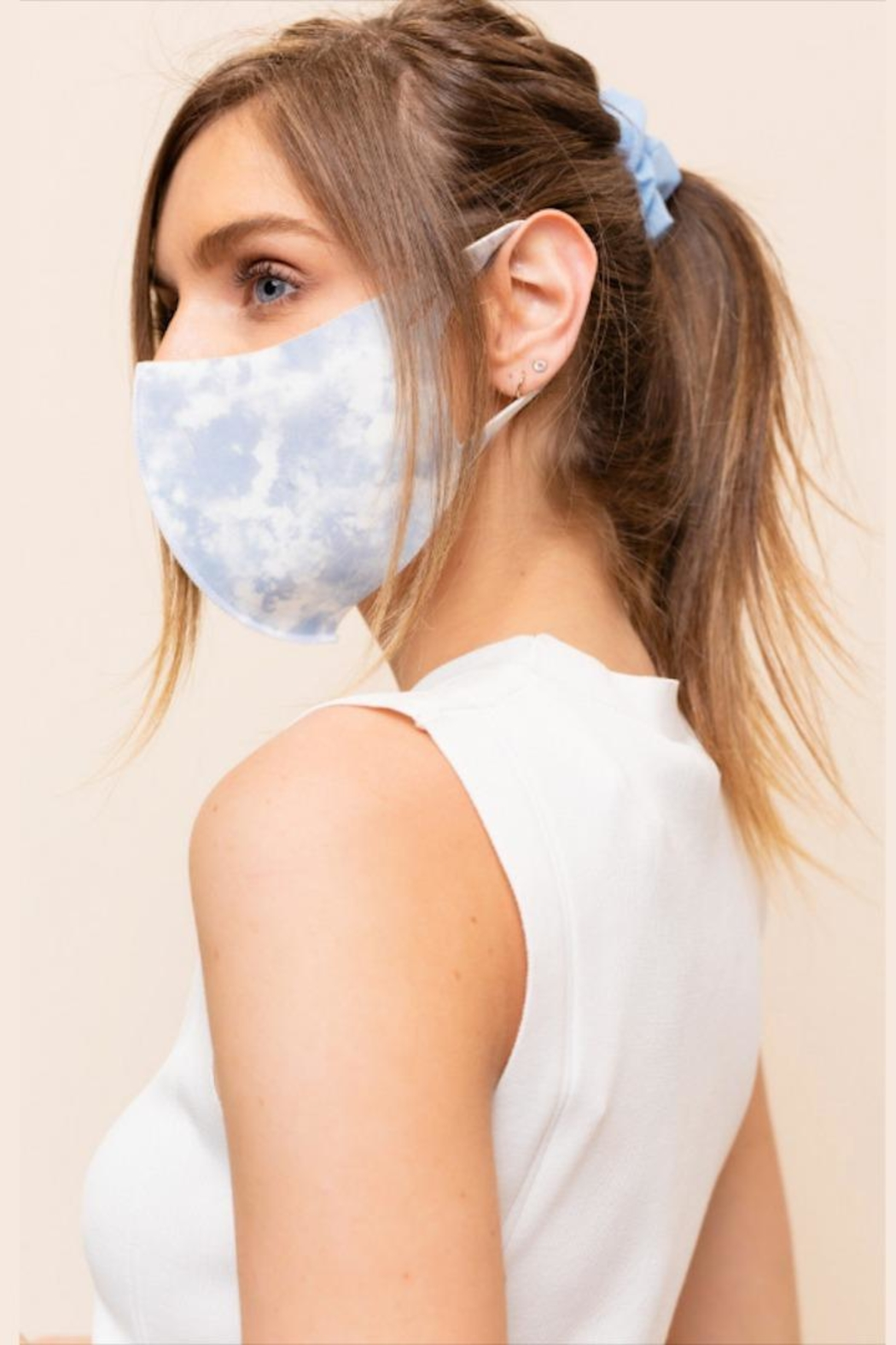 Gilli Tie-Dye Protective Face-Mask - Back Cropped Image
