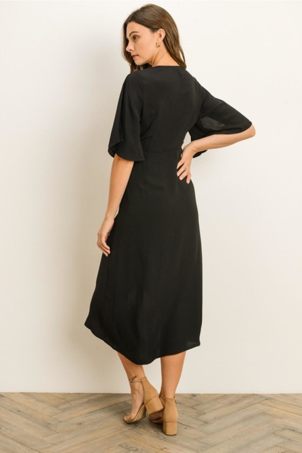 Gilli Twist Front Midi - Back Cropped Image