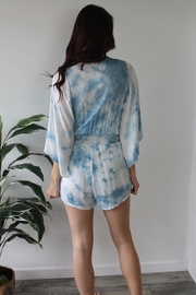 Gilli Washed Away Romper - Side cropped