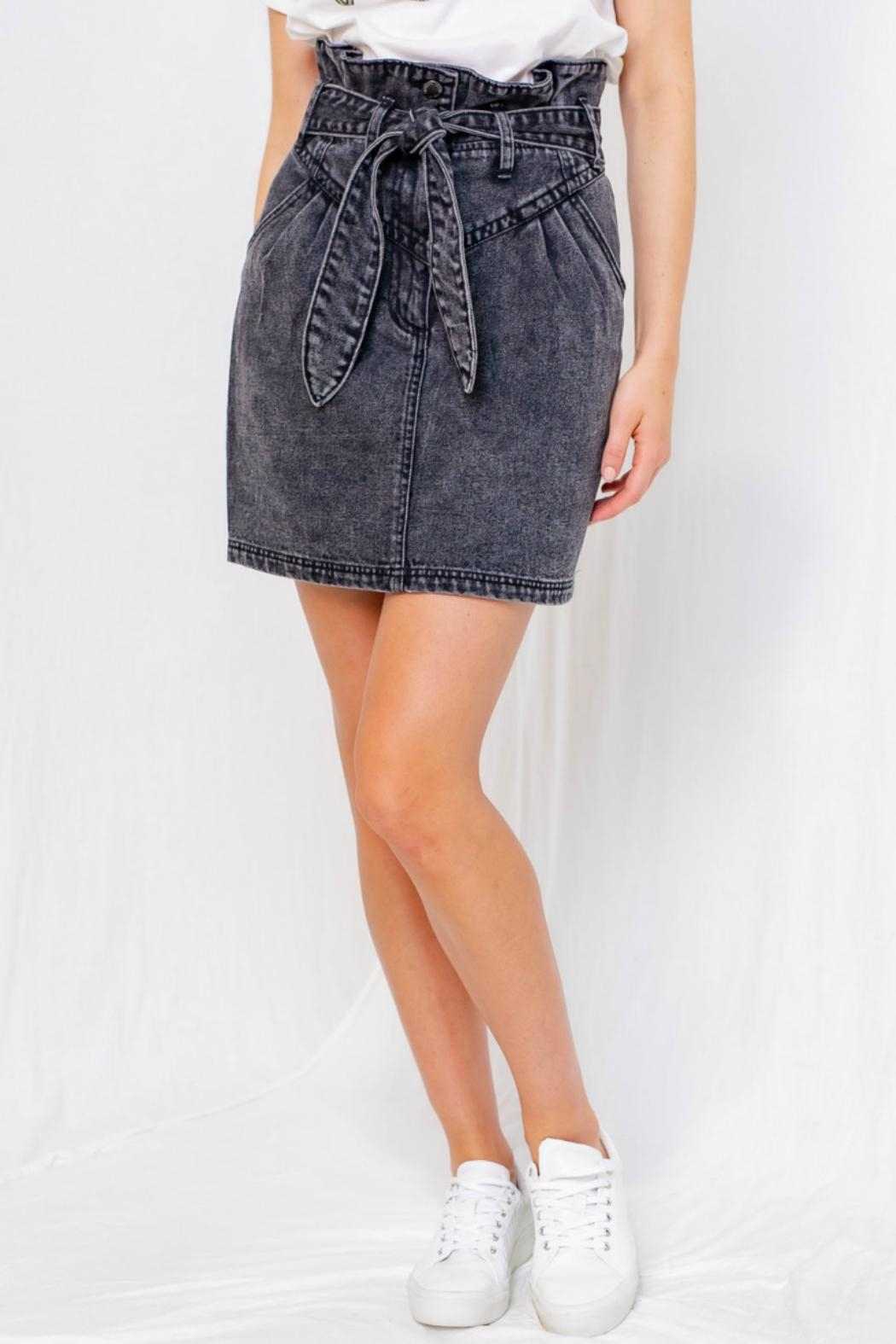 Gilli Washed Denim Mini - Front Full Image